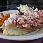 Their Colossal Lobster Roll...oh my God.