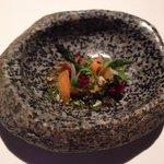 La quinoa crujiente de esta entrada sabía delicioso.