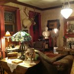 House full of interesting artifacts and antiques