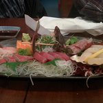 Sashimi plate to share