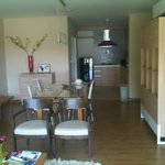 Kitchen. And they even have storage room where you can keep broom and do the ironing if you want