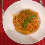 Fettucine pasta