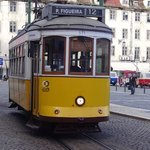 One of Lisbon's many trams