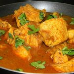 Chicken Curry Served With Rice $3.00