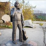 Memorial to Vladimir Vysotsky
