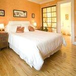 Chambre Orange Art Déco / Orange room Art Deco