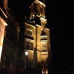 Schloss Eckberg bei Nacht