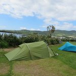 My tent on Mannix Point