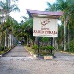 Ingang van Sahid Toraja hotel