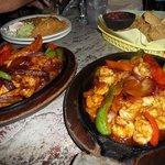 seafood fajitas, yummy