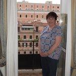 Lovely balcony 5th floor room