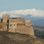 Castillo de Monzon en Décembre