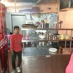 Poorly maintained Open kitchen, Flavors, moolchand, new Delhi