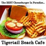 Cheeseburger in Paradise atTigertail Beach Marco Island