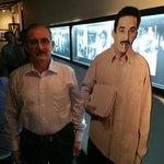 A la entrada con Gabril García Márquez