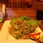 Energy salad, super healthy
