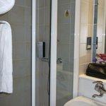 The shower. No bath