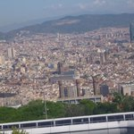 Funicular view of Barcelona