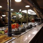 Salad Bar at Big Boy Coldwater