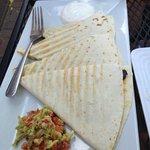 The best quesadilla I've had...
