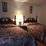 2 double beds, 1st floor