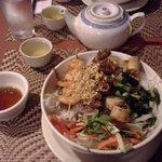 Monkey Bridge House Special Rice Noodle Bowl