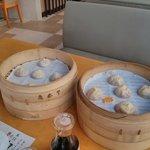 Broth filled dumplings