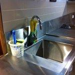A clean sink
