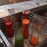 fresh made juice for breakfast!