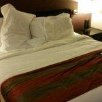 Big comfortable bed