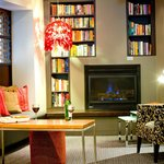 Reading Lounge & Fireplace