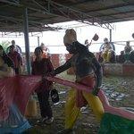 Scene from Mahabharat