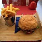 'U make me hoppy' kangaroo burger