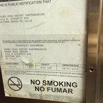 Expired certificate of safety in the elevator. Stayed at this craptastic place 10/26/2014...almo