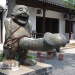 Statue at the Tongli Sex Museum, Wujiang China