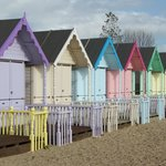 Lovely  'Huts' situated in front of Cafe