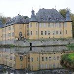 Schloss Dyck -- just inside gate