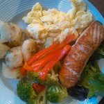 Brunch plate made for a customer..