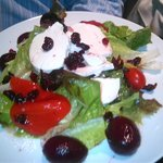 Come try our fresh Goat cheese salad ..
