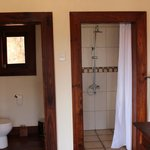 Separate shower and toilet and bath rooms