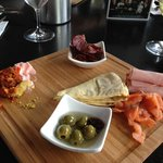 Dips and Anti Pasto Platter