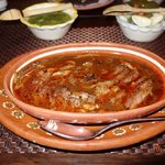 Birria (goat) - we choose all meat (3 choices - with bones, little bones or all meat)