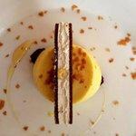 Delizioso dessert preparato da Chef Luigi