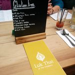 Ask about the gluten free options -- they have checked the ingredients carefully and have served