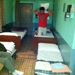 dorm-like room
