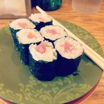 Tuna rolls run about $2.5-$3