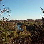 View of Meremac Valley from Castlewood Park Trail