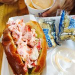 Lobster Roll and Lobster Bisque