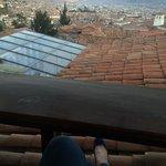 Lindo mirador en Cusco