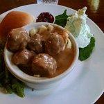 Swedish meatballs, prepared to perfection.